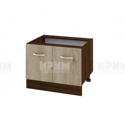 Долен кухненски шкаф за Раховец Сити ВДА-32 - 60 см. - сонома арвен/венге