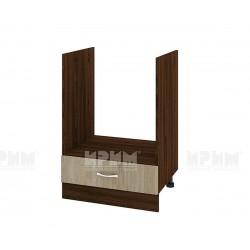 Долен кухненски шкаф Сити ВДА-36 за фурна - 60 см. - сонома арвен/венге
