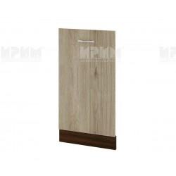 Врата за съдомиялна Сити ВДА-38 - 45 см. - сонома арвен/венге