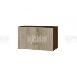 Горен кухненски шкаф Сити ВДА-15 с хоризонтална врата - 60 см. - сонома арвен/венге