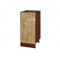 Долен кухненски шкаф Сити ВДД-24 с врата и чекмедже - 40 см.