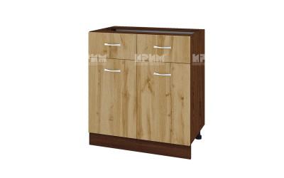 Шкаф Сити ВДД-26 с две врати и чекмеджета