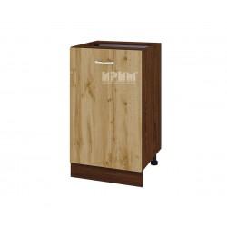 Долен кухненски шкаф Сити ВДД-43 с врата и рафт - 50 см.
