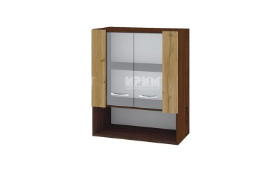 Горен шкаф Сити ВДД-9 с витринни врати