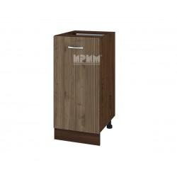 Долен кухненски шкаф Сити ВО-21 с врата и рафт - 40 см.