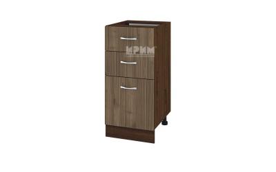 Шкаф Сити ВО-27 с две чекмеджета и врата