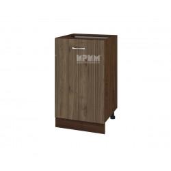 Долен кухненски шкаф Сити ВО-43 с врата и рафт - 50 см.