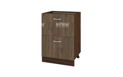 Шкаф Сити ВО-44 с две чекмеджета