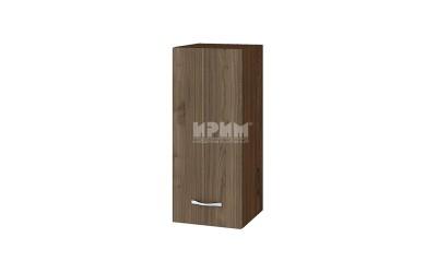 Горен шкаф Сити ВО-1 с врата и рафт