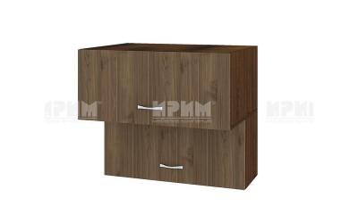 Горен кухненски шкаф Сити ВО-107 с хоризонтални врати - 80 см.