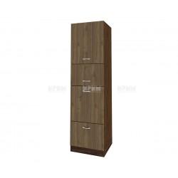 Колонен кухненски шкаф Сити ВО - 48 за фурна и микровълнова печка - 60 см.