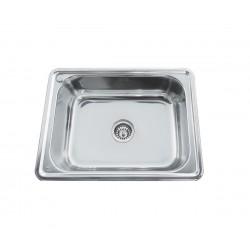 Единична мивка за вграждане Сити L/R