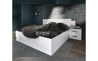Спален комплект City 7058 - Бяло фладер