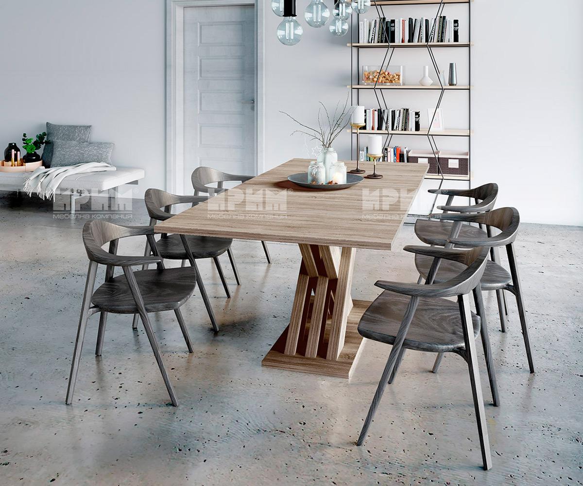 трапезна маса и столове