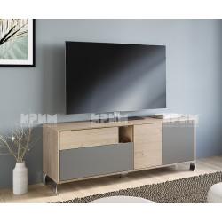 ТВ шкаф CITY 6250 - Кестен вирджиния/ Базалт U730