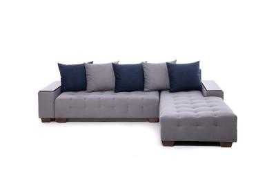 Ъглов диван Корсика Лайт 1 с функция сън, лежанка и ракла