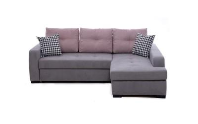 Ъглов диван Тасос 1 с функция сън, лежанка и ракла