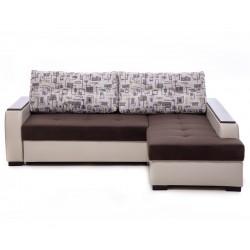 Ъглов диван Тасос 2 с функция сън, лежанка и ракла