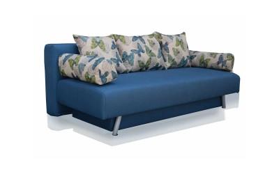 Холов триместен диван Джули 1 с функция сън и ракла