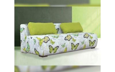 Холов триместен диван Джули 2 с функция сън и ракла