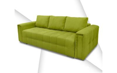Холов триместен диван Мелбърн с функция сън и ракла