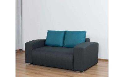 Холов двуместен диван Виктор с ракла