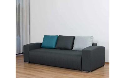 Холов триместен диван Виктор с опция сън и ракла