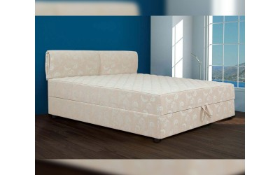 Тапицирана спалня Лион 1 - Пух с еднолицев матрак - 160/200 см.