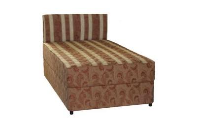 Тапицирана спалня Лион 1 - Пух с еднолицев матрак - 120/200 см.