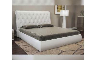 Тапицирана спалня Зара с ламелна рамка - 160/200 см.