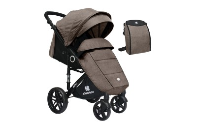 Бебешка лятна количка Juno Beige 2020 - бежово - Kikkaboo