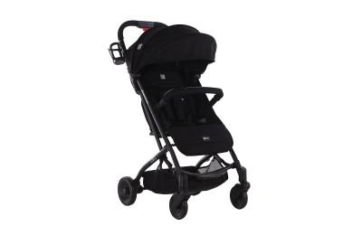 Бебешка лятна количка Libro Black 2020 - черно - Kikkaboo