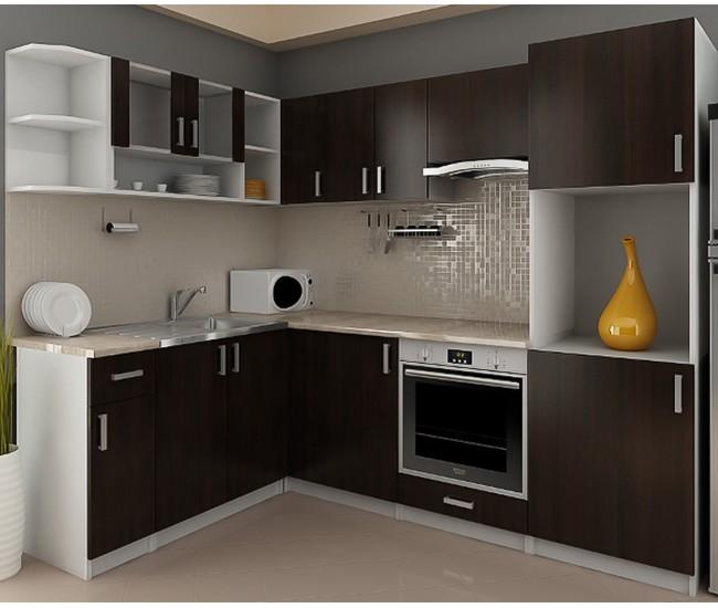 Готова модулна ъглова кухня