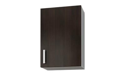 Горен кухненски шкаф Кети М3 Венге/Бяло с една врата - 40 см.