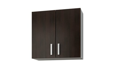 Горен кухненски шкаф Кети М7 Венге/Бяло с две врати - 60 см.