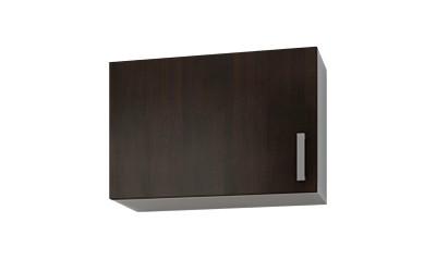 Горен кухненски шкаф Кети М8 Венге/Бяло за аспиратор - 60 см.