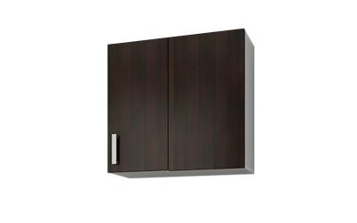 Горен кухненски шкаф Кети М19 Венге/Бяло за ъгъл - 60 см.