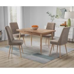 Комплект трапезна маса с 4 стола Бохеми