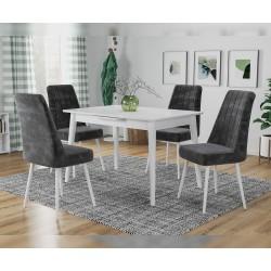 Комплект трапезна маса с 4 стола Дея