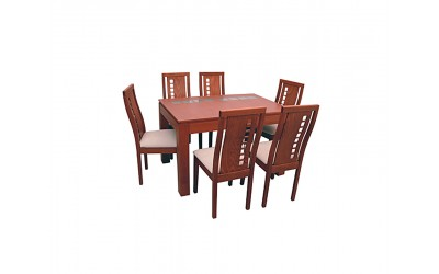 Комплект маса и столове Сантал