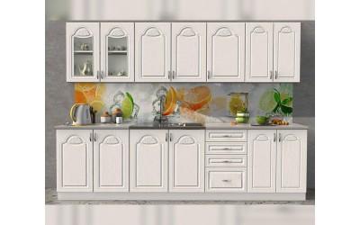 Готова модулна кухня Олга МДФ - Антик 260 см.
