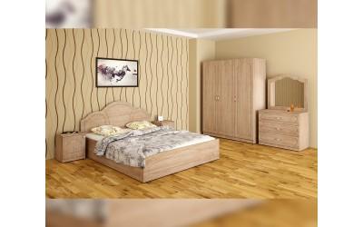 Спален комплект Лора - дъб сонома