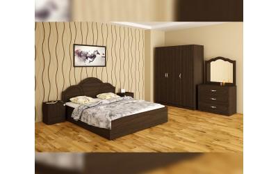 Спален комплект Лора - венге