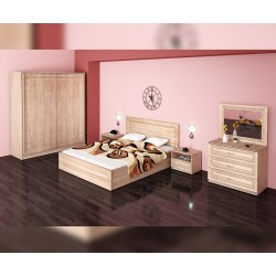 Спален комплект Стела - дъб сонома