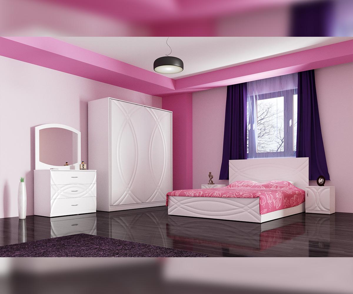 спалня в розово