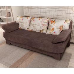 Триместен диван Дино - с функция сън и ракла