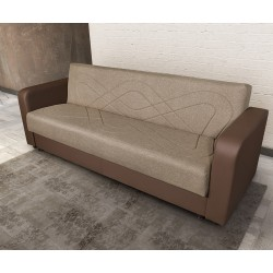 Триместен диван Клик-Клак I - с функция сън и ракла