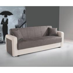 Триместен диван Клик-Клак II - с функция сън и ракла