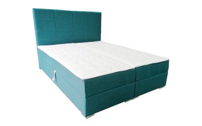 Тапицирано легло Добо 160/200 - Покет/Мемори пяна - с включен матрак