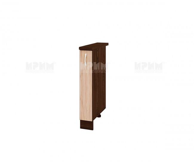 Долен кухненски шкаф бутилиера Сити ВА-41 - 15 см.